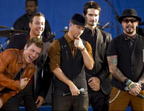 Backstreet Boys,  Madeleine,  Nick Carter,  Howie Dorough,  Brian Littrell,  AJ McLean,  Kevin Richardson
