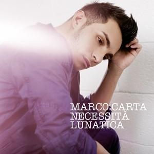 Marco Carta, Necessità Lunatica, copertina, tracklist